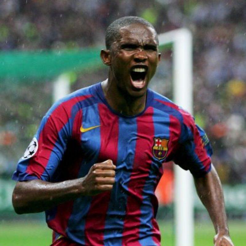 Samuel Eto'o anotó en la final de 2006 ante el Arsenal. Foto:Getty Images