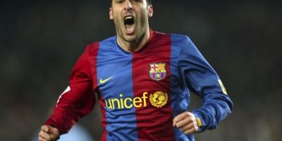 Ludovic Giuly (Barcelona) Foto: Getty Images