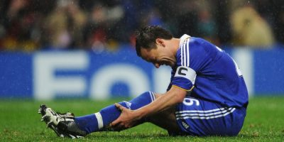 4. El drama de John Terry Foto: Getty Images