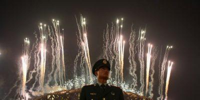 Y en los Juegos Olímpicos de Beijing 2008 fallecieron seis obreros Foto:Getty Images