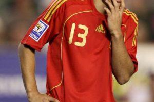 """Es hijo del futbolista serbio del mismo nombre que jugó en la Segunda División de España. Su padre se casó con una española y nació él, quien pudo escoger entre Serbia (que mostró interés en convocarlo) y España, y finalmente, se decidió por la """"Furia Roja"""" con quien debutó en 2010. Foto:Getty Images"""
