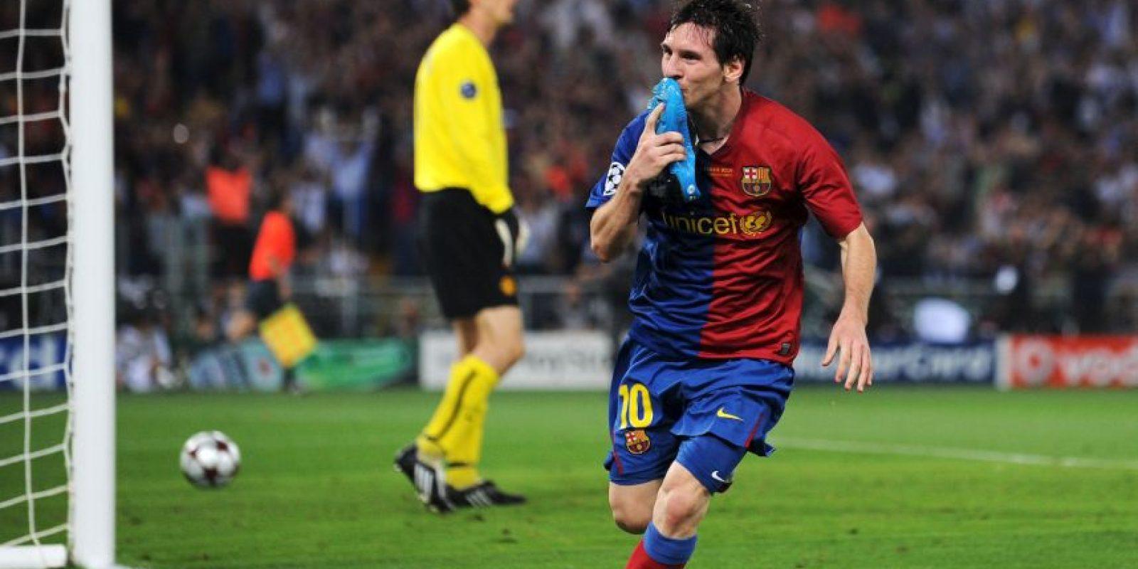 Y en 2009 frente al mismo rival. Foto:Getty Images