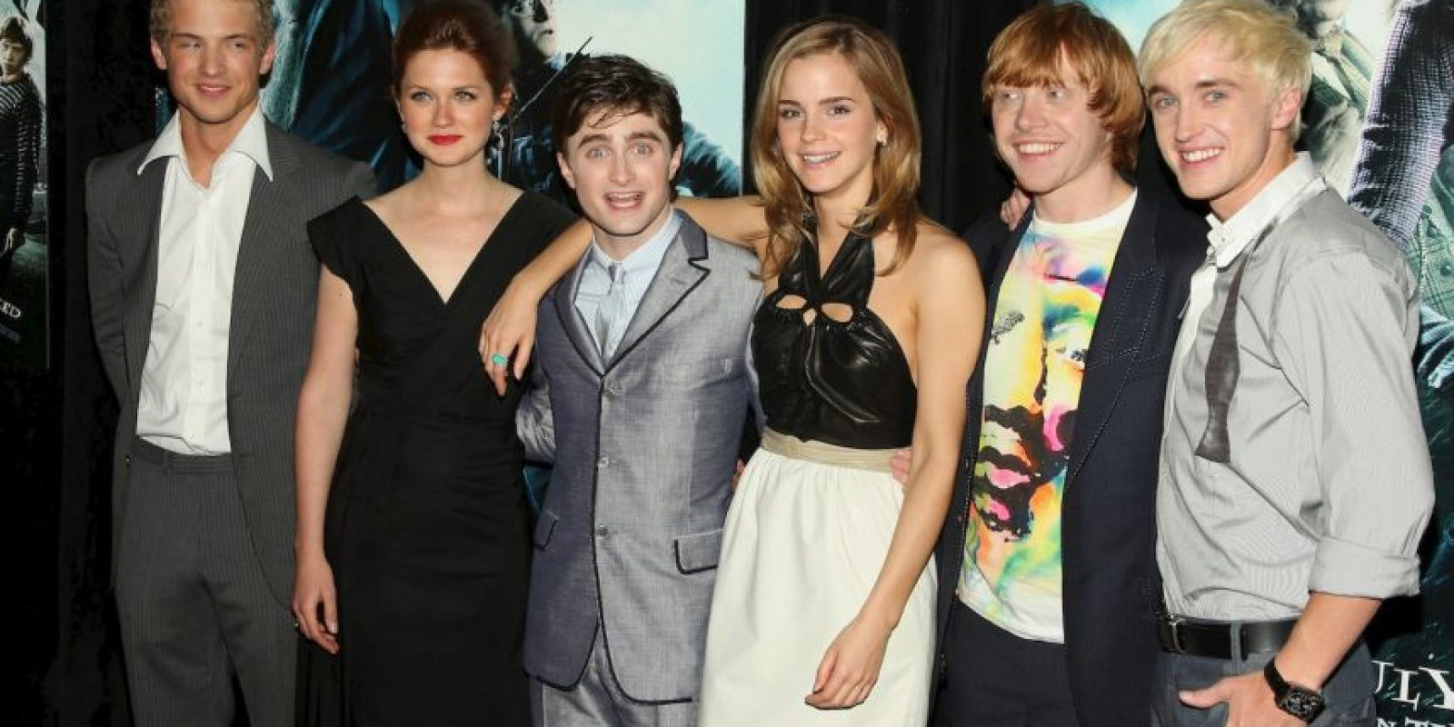 "Elenco principal de ""Harry Potter"" Foto: Getty Images"