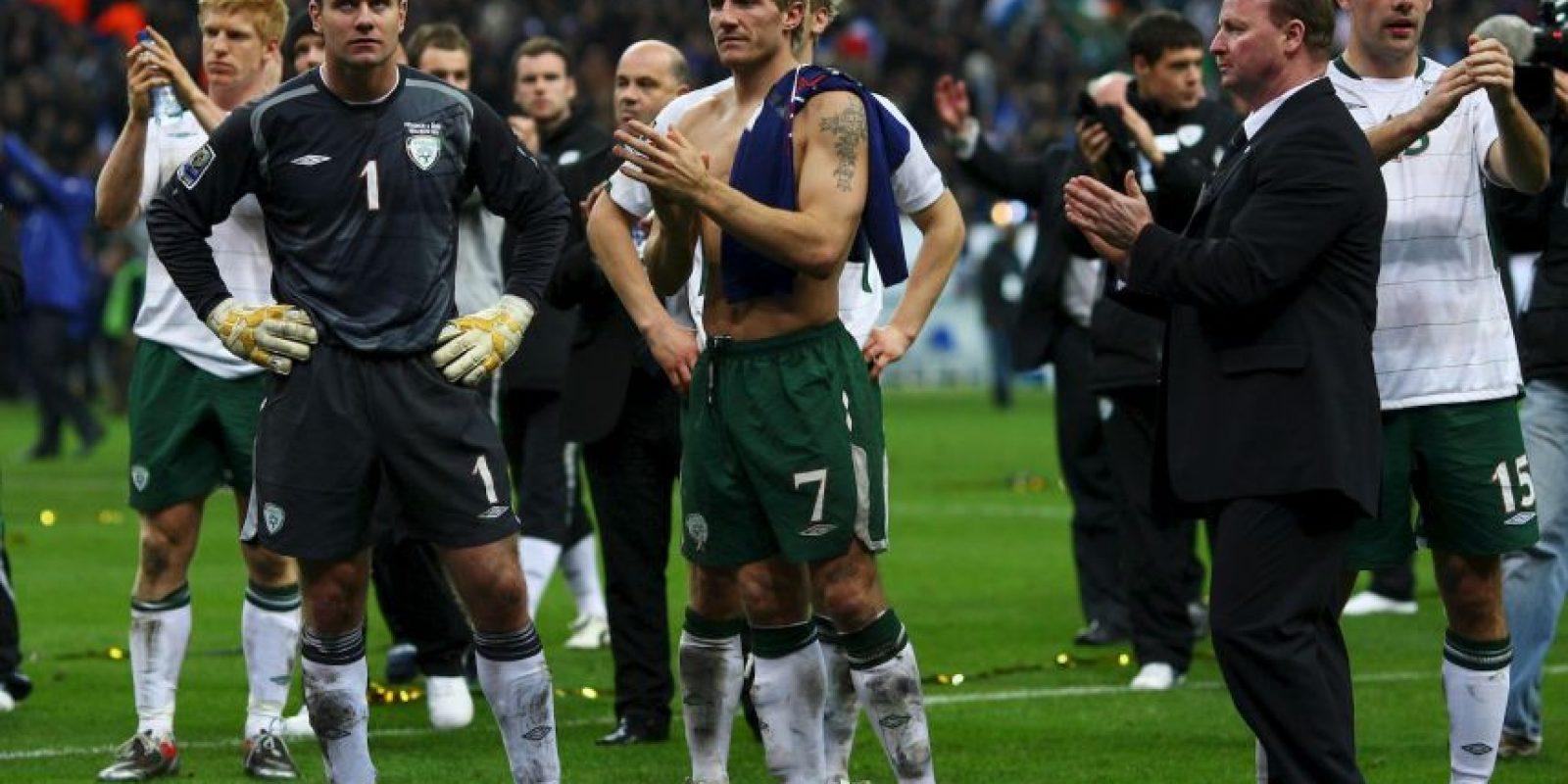 """Finalmente, """"Les Bleus"""" fueron a Sudáfrica 2010 donde les fue muy mal. Se regresaron tras una primera ronda al ser eliminados en un grupo A en que clasificaron México y Uruguay. Foto:Getty Images"""