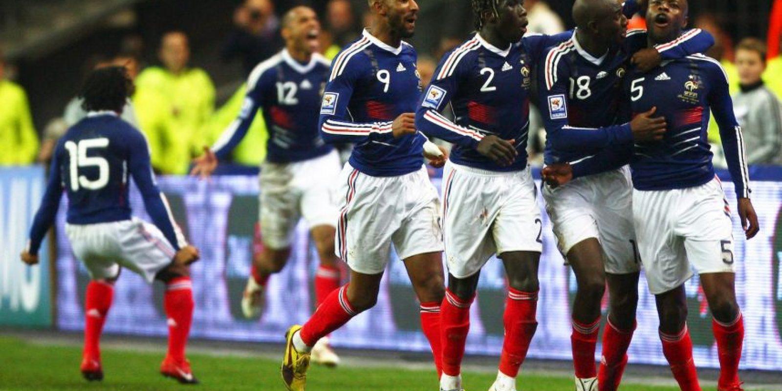 """En Dublín, capital de Irlanda, """"Les Bleus"""" ganaron 1-0 y todo hacía pensar que en Francia sólo sentenciarían la eliminatoria. Foto:Getty Images"""