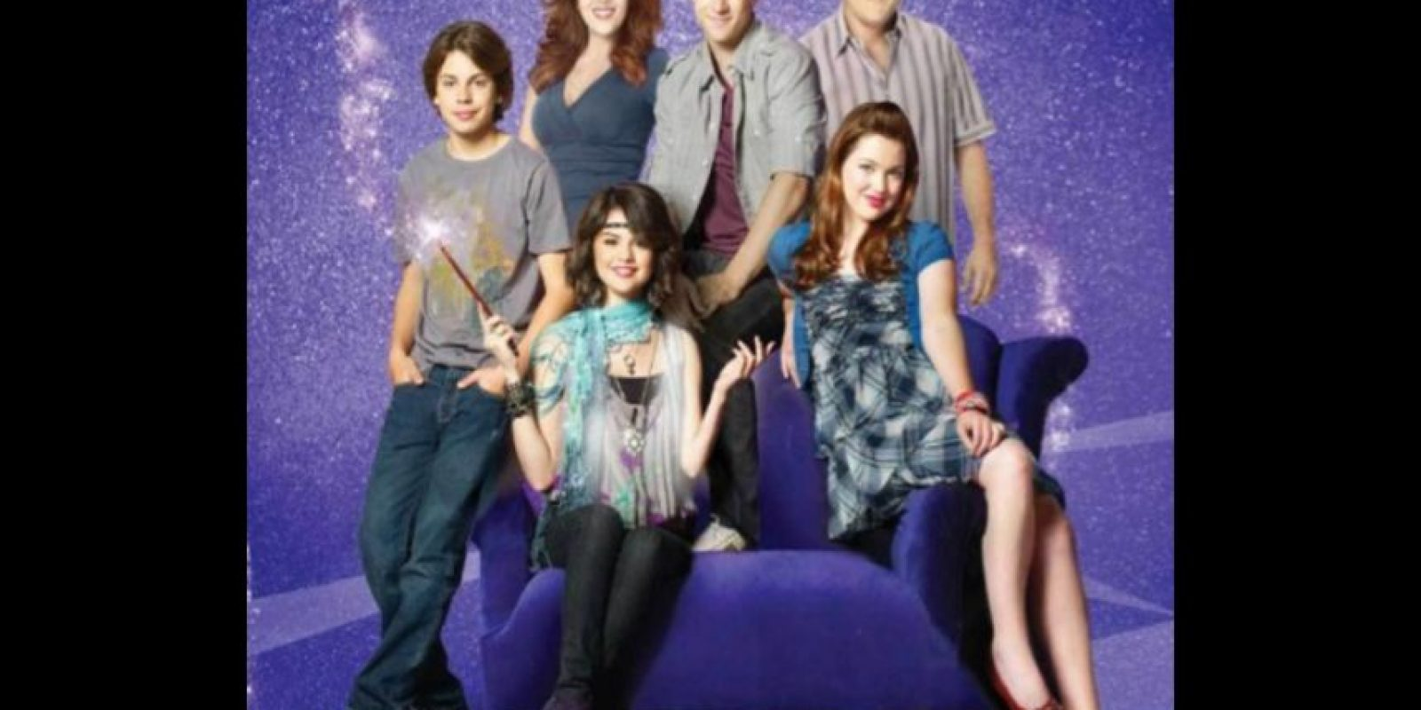 """""""Los Hechiceros de Waverly Place"""" era una famila ítalo-mexicana de apellido """"Russo"""" Foto:Disney"""