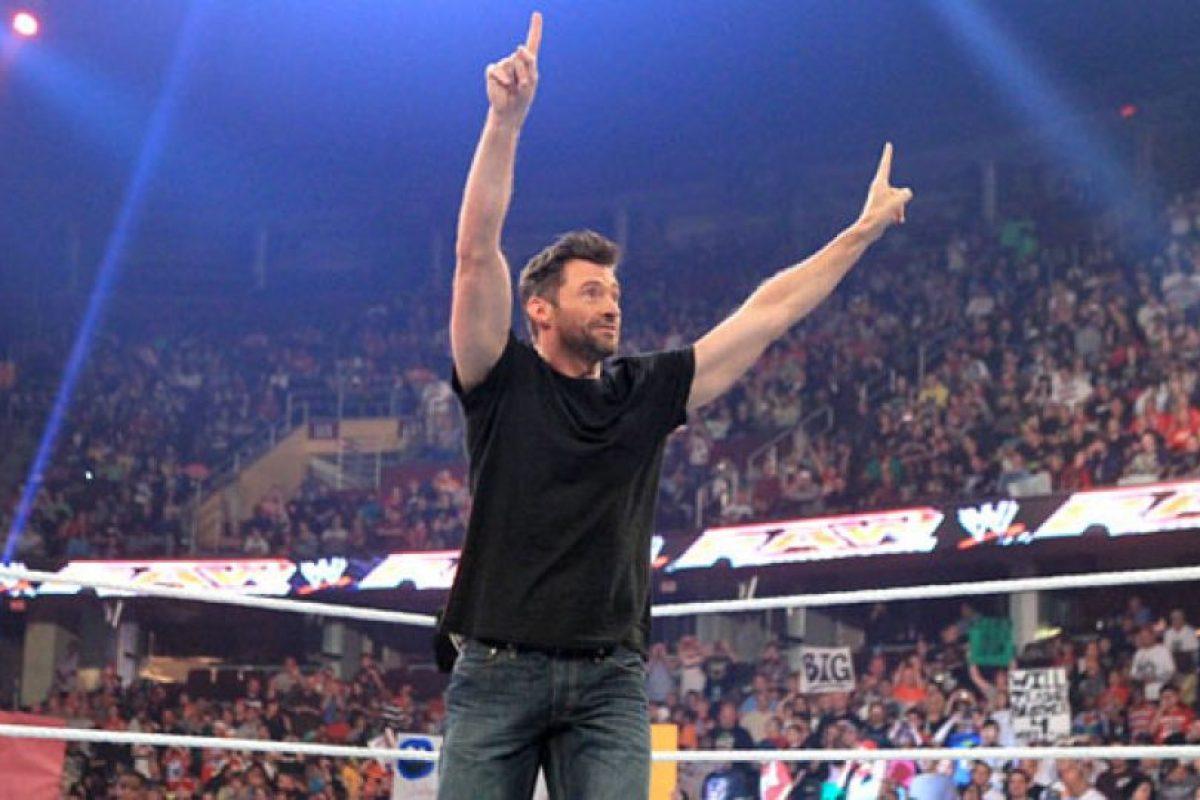 Hugh Jackman Foto:WWE