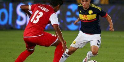 Juan Fernando Quintero (Colombia). Otra baja para el combinado de Pékerman, debido a una lesión en la rodilla derecha Foto:Getty Images