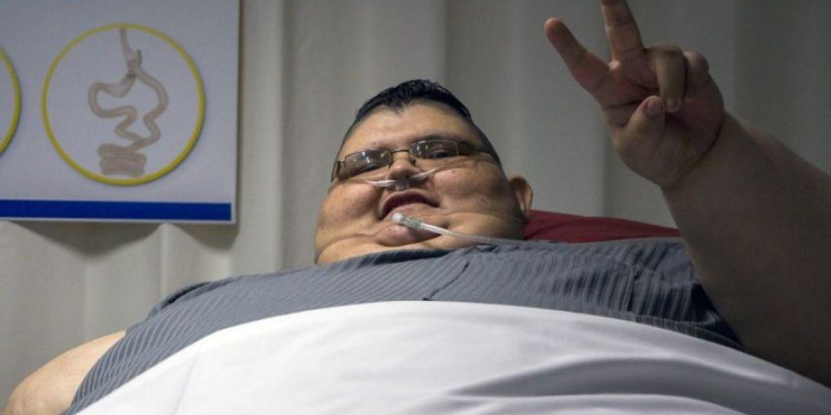 VIDEO. El hombre más obeso del mundo quiere reducir a la mitad sus 1,300 libras
