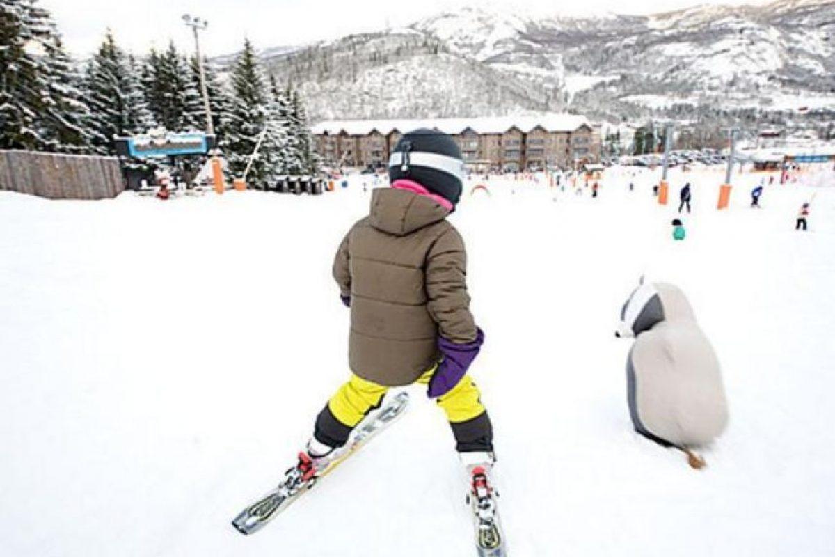 Esquí. A una buena velocidad se puede tener un gasto calórico de hasta 500 calorías Foto:Flickr.com