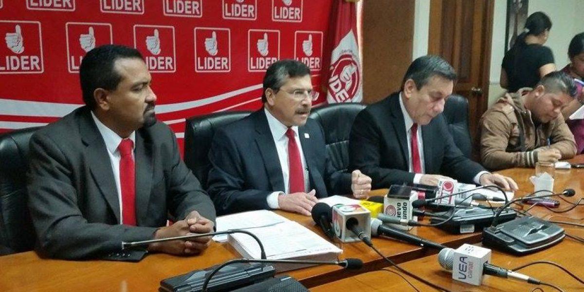 Líder afirma que gobierno debe recortar Q5,300 millones en gasto