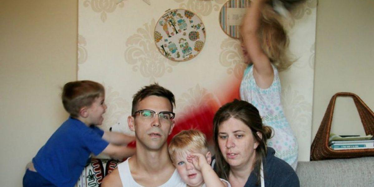 FOTOS. Estas imágenes demuestran que ser padre no es tarea fácil