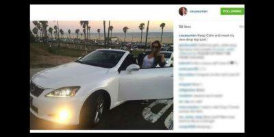 Es dueña de un auto Lexus color blanco, valuado en 43 mil dólares, según el portal Page Six. Foto:vía instagram.com