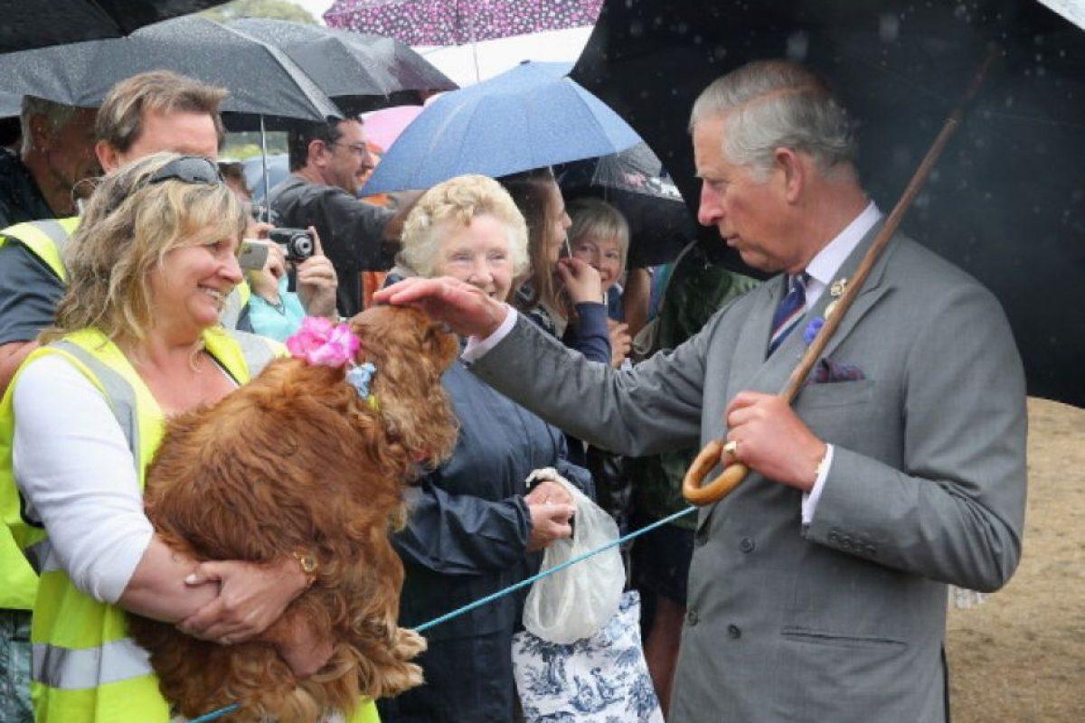 El Príncipe Carlos de Inglaterra, primero en la línea de sucesión de la corona Foto:Getty Images