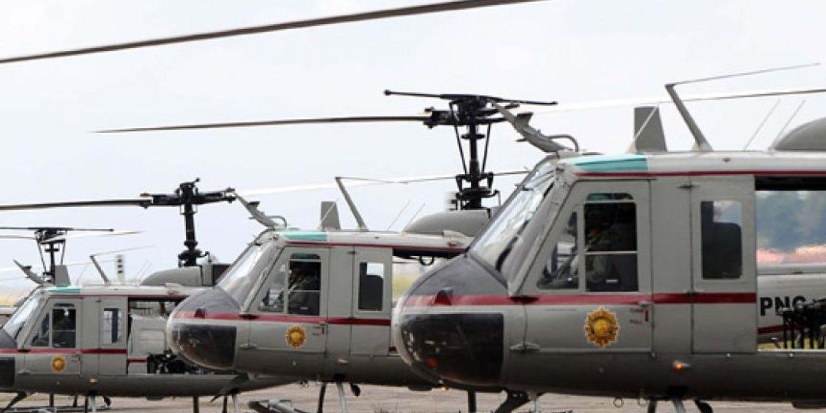 Los patrullajes en la capital con helicópteros continuarán