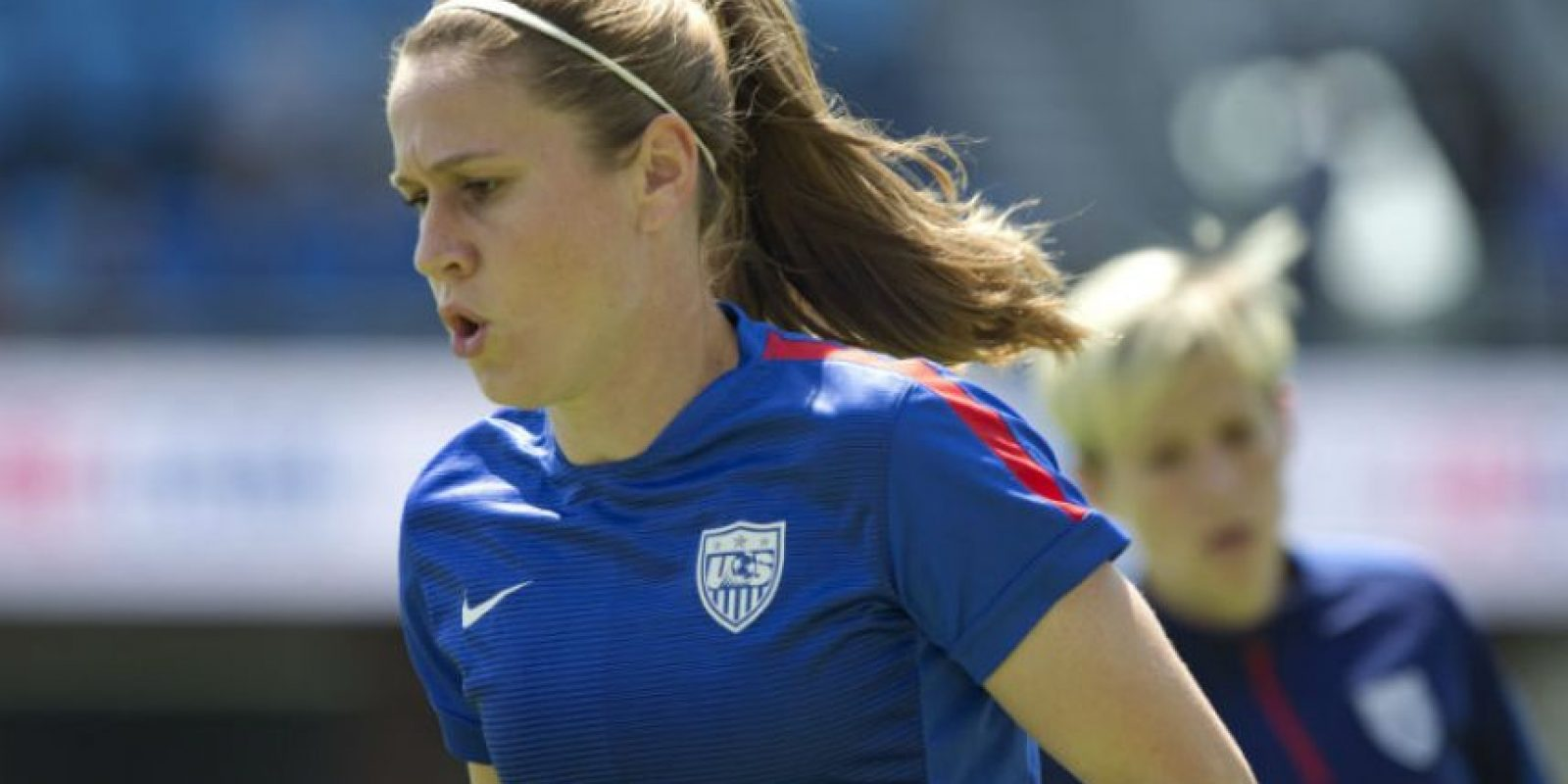 """7. Heather O'Reilly. La futbolista estadounidense trabaja para la fundación """"Women's Sports Foundation"""", que ayuda al desarrollo de las mujeres a través de la actividad física Foto:Getty Images"""