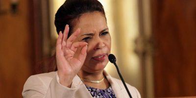 Roxana Baldetti tiene pasaporte italiano vigente