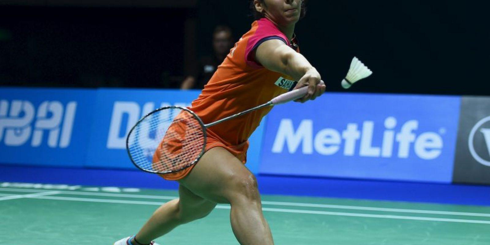 18. Saina Nehwal. La estrella india de badminton se caracteriza por sus proyectos de caridad para niños alrededor del mundo Foto:Getty Images