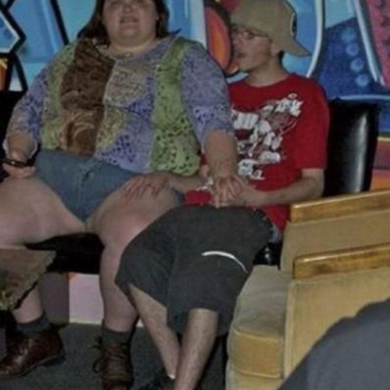 Una pareja dispareja Foto:Tumblr.com/Tagged/pareja/wtf