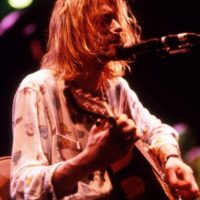 4. Cobain era un artista completo. Foto: Getty Images