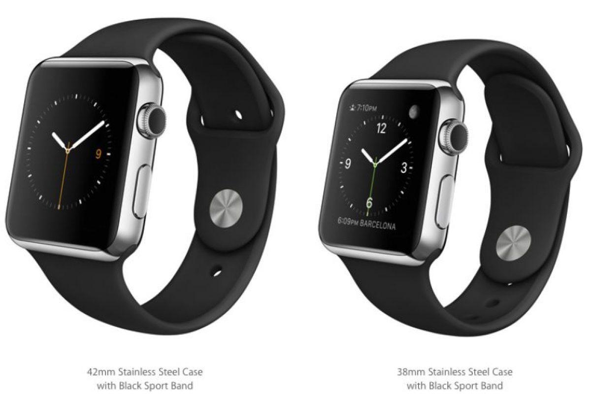 Disponible en colores negro Foto:Apple