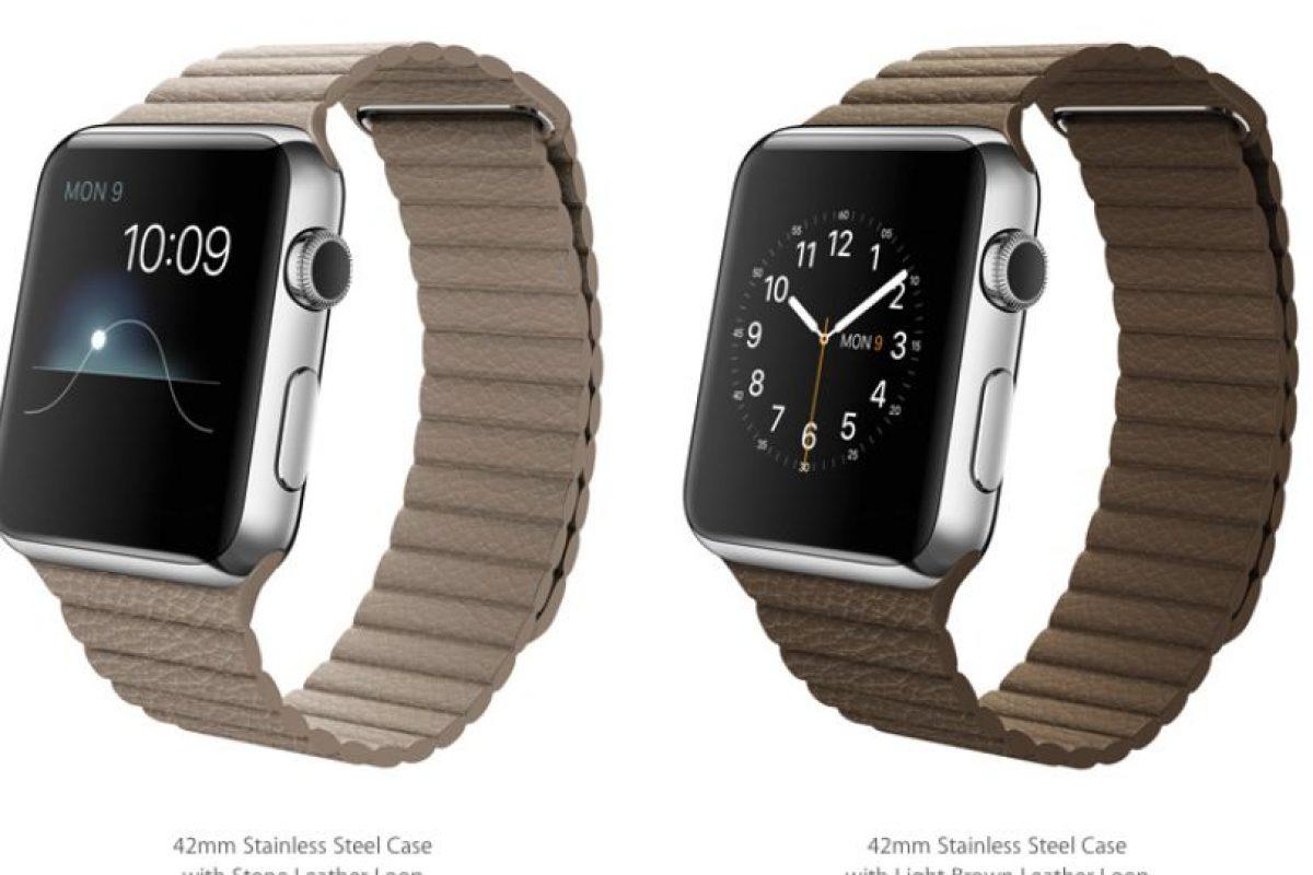 Con correas ajustables Foto:Apple
