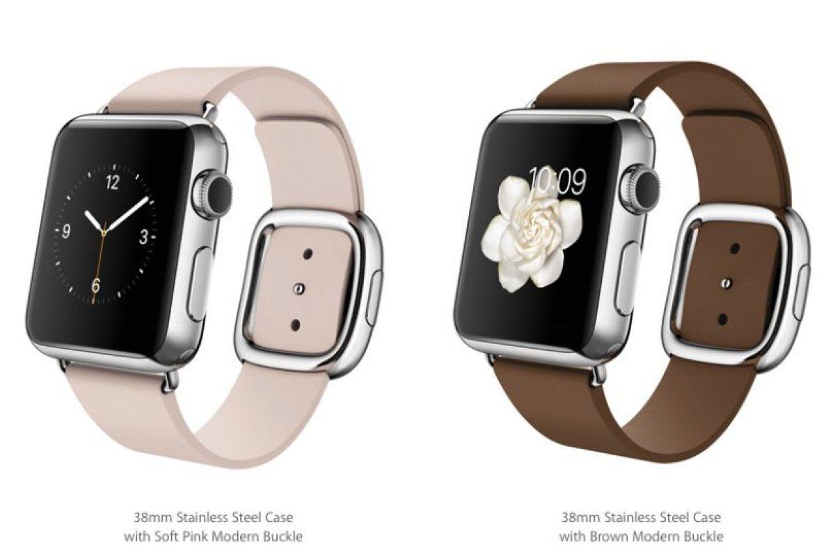Con correas estilo broche Foto:Apple