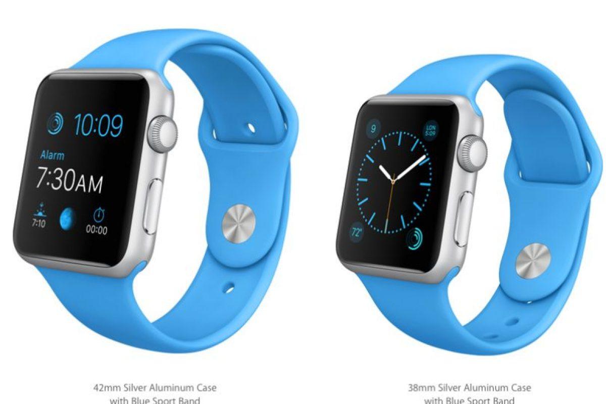 Y azul Foto:Apple