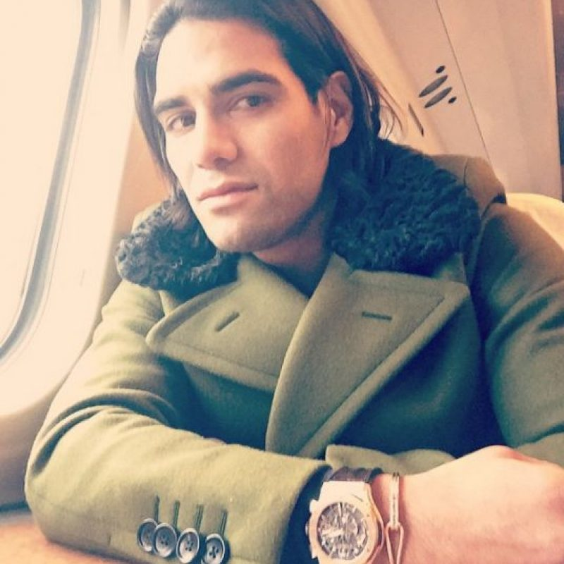 Radamel Falcao (Colombia) Foto:Vía instagram.com/FALCAO