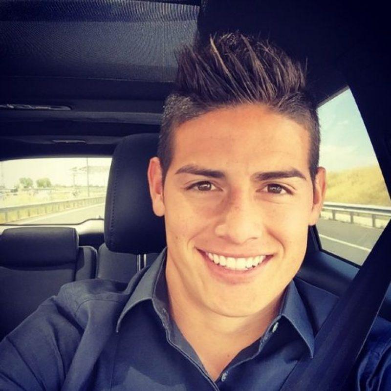 El mediocampista juega en el Real Madrid y tiene 23 años. Foto:Vía instagram.com/jamesrodriguez10