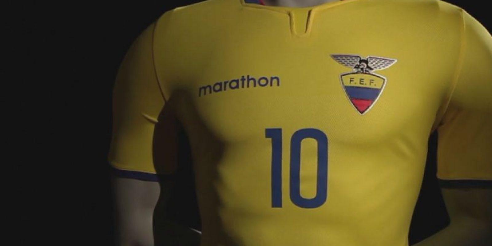 También estrenarán playera en la Copa América. Foto:Marathon