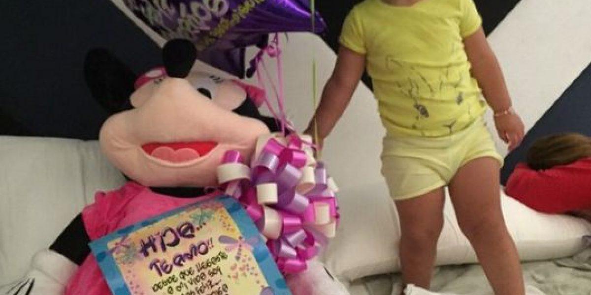 FOTOS: El tierno festejo de James Rodríguez con su hija Salomé