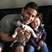 Por ello es común ver fotos de James con su heredera posando tiernamente en cualquier lugar. Foto:Vía instagram.com/jamesrodriguez10