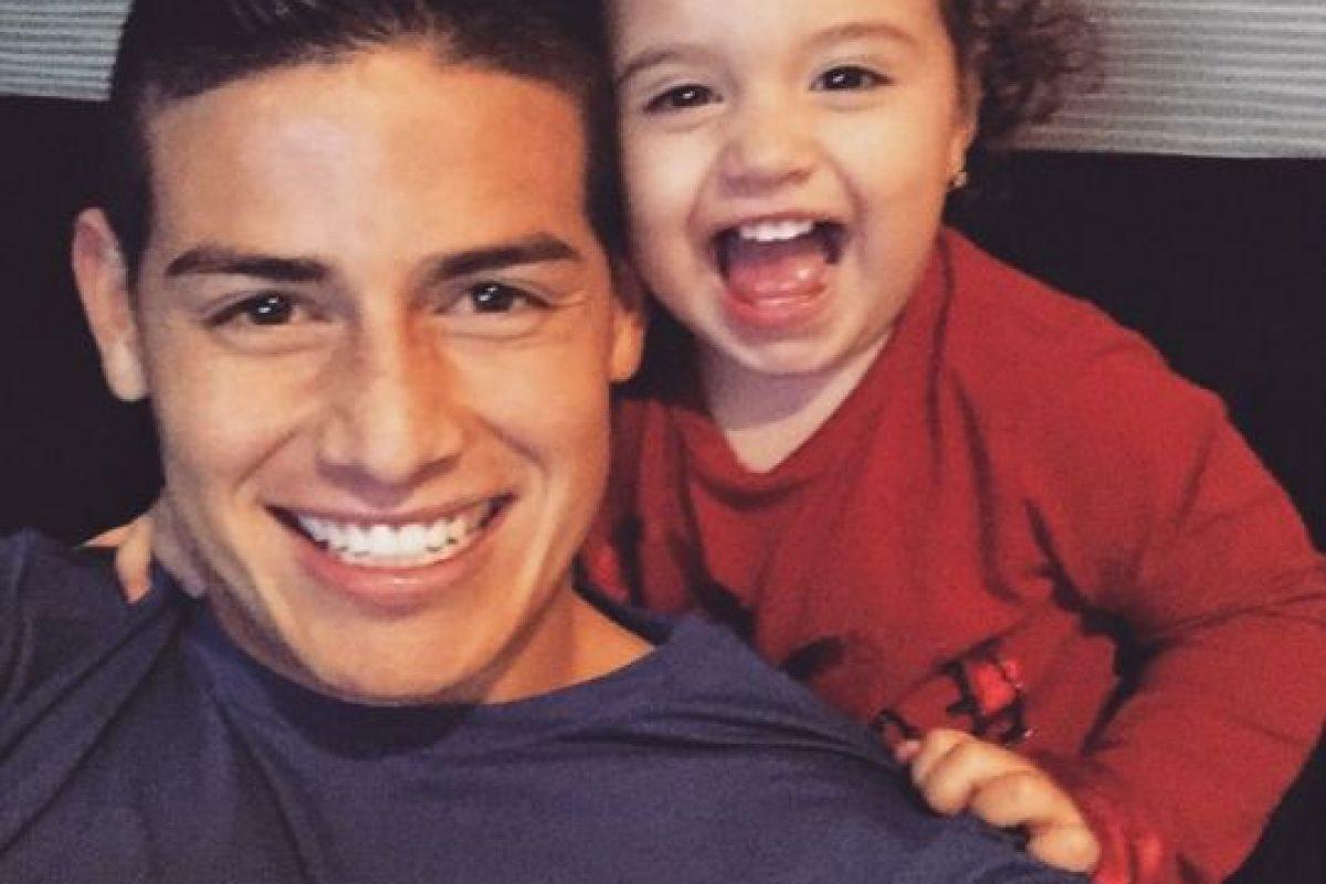 Incluso, James y Daniela le hicieron a su hija una cuenta en Instagram dedicada totalmente a ella, en la cual publican imágenes de su crecimiento. Foto:Vía instagram.com/jamesrodriguez10