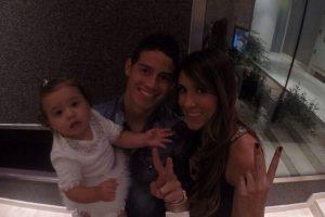 La pareja se ha caracterizado por compartir sus momentos especiales con sus seguidores. Foto:Vía instagram.com/jamesrodriguez10