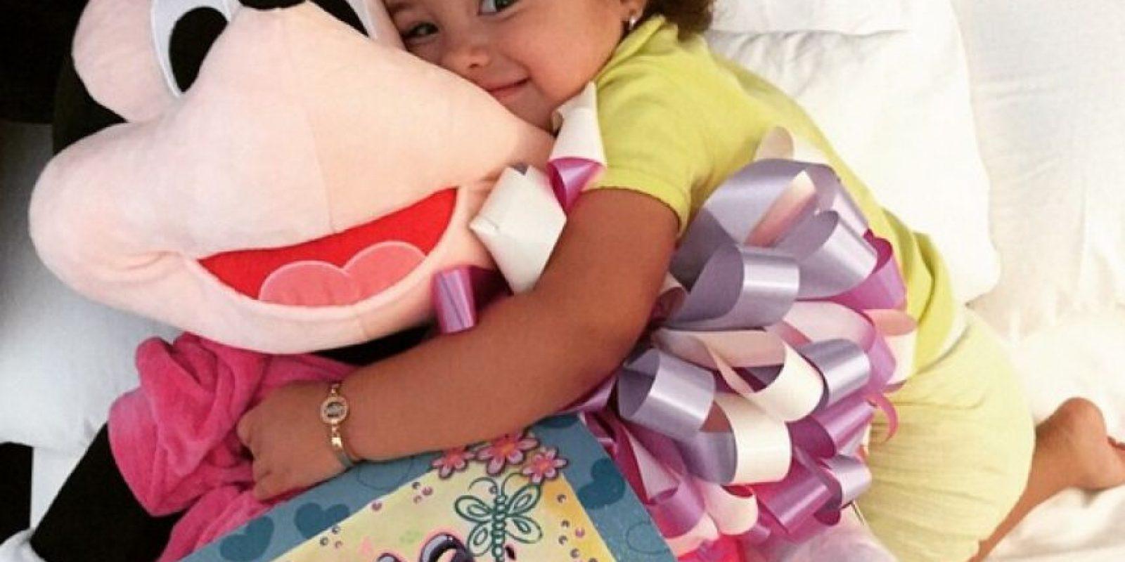 La niña nació en Medellín y es la alegría de James y su esposa, Daniela Ospina. Foto:Vía instagram.com/salomerodriguezospi