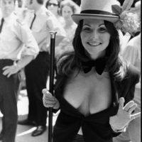 """Quien fuese famosa por """"Garganta Profunda"""", sufrió constantes abusos de su marido, Chuck Traynor, productor que la metió en la industria pornográfica Foto:vía Getty Images"""