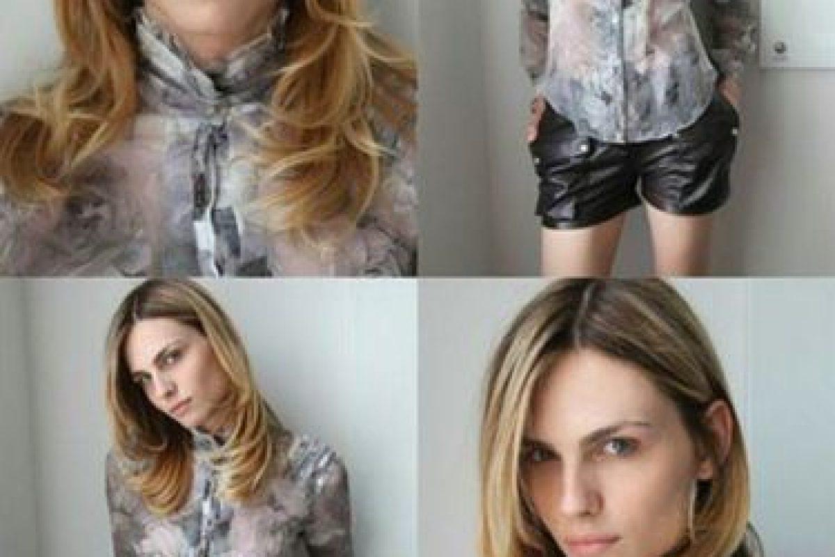 Una modelo que por su figura andrógina supo vestir muy bien ropa de hombre como de mujer Foto:Vía instagram.com/andrejapejic/