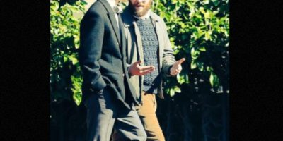 Michael Fassbender y Seth Rogen (actores) Foto:9to5mac