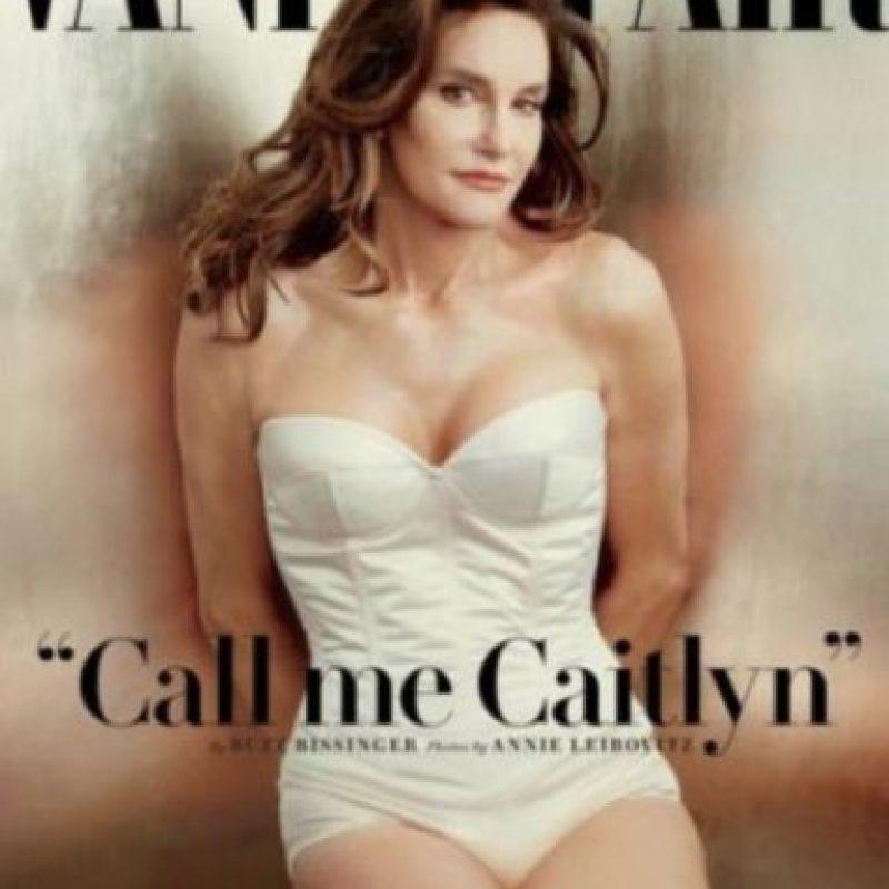 """Caitlyn Jenner sí """"rompió el internet"""" Foto:Vanity Fair"""