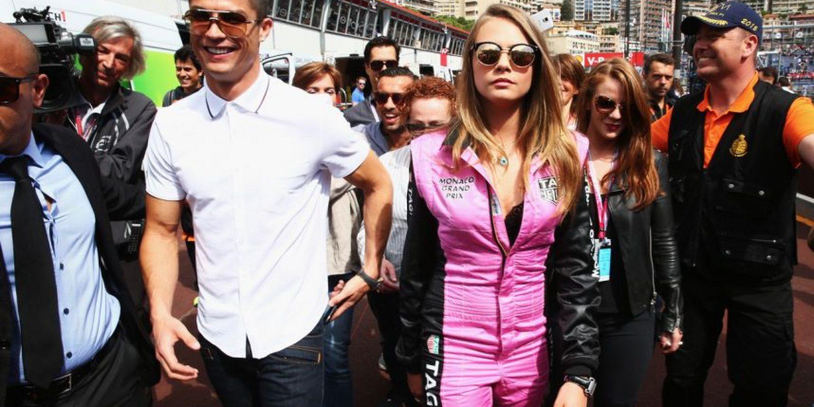 Antes de esto, fue captado en el Gran Premio de Mónaco. Foto:Getty Images