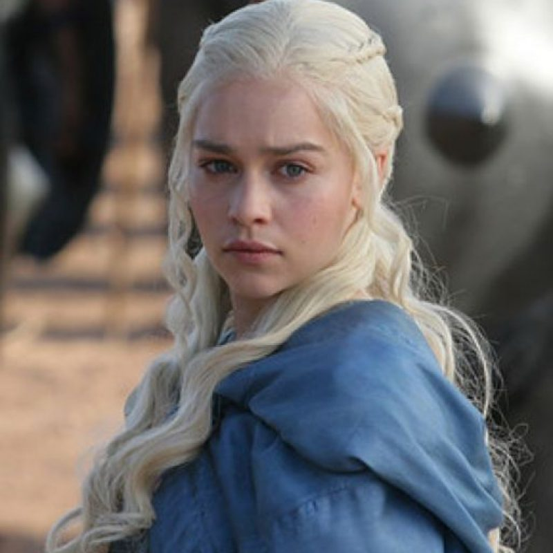 Daenerys Targaryen es interpretada por Emilia Clarke Foto:vía HBO