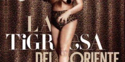 """Con 70 años: """"La Tigresa del Oriente"""" se desnudó para revista masculina"""