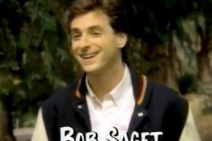 Bob Saget interpretó a Danny Tanner Foto:YouTube