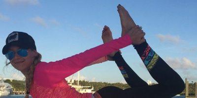En su rutina de ejercicios no puede faltar yoga Foto:Vía instagram.com/annakournikova/