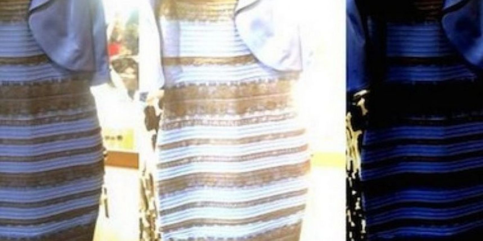 #TheDress Foto: Vía Tumblr