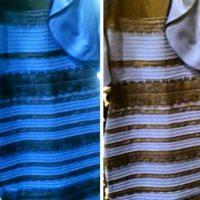 ¿Azul y negro o blanco y dorado? Foto:Vía Tumblr