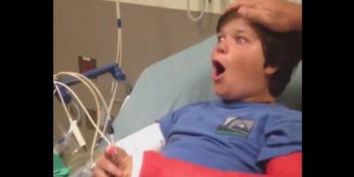 VIDEO: Esta es la graciosa reacción de un niño luego de la anestesia