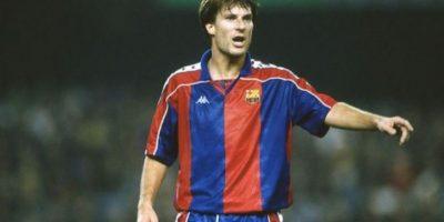 Luego, el danés jugaría para Barcelona entre 1989 y 1994 Foto:AFP