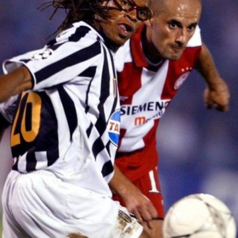 El holandés Edgar Davids defendió a la Juve entre 1997 y 2004 Foto:AFP